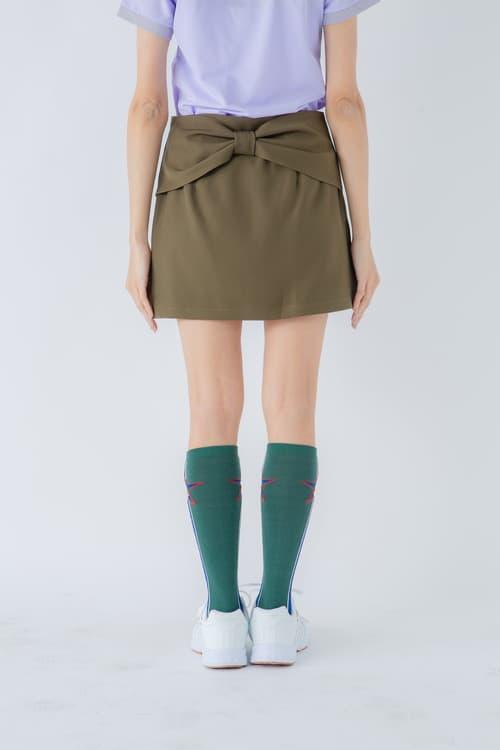 バックリボンスカート