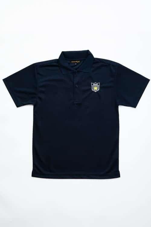 胸刺繡ドライポロシャツ(ユニセックス)