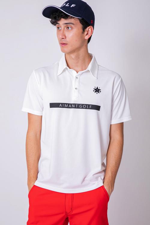 フロントロゴポロシャツ(MEN)