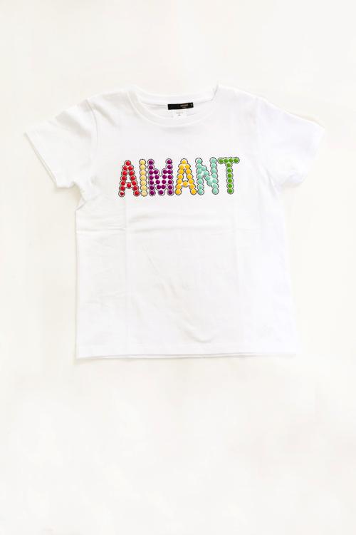 AIMANTマルチカラーロゴTシャツ(MEN)