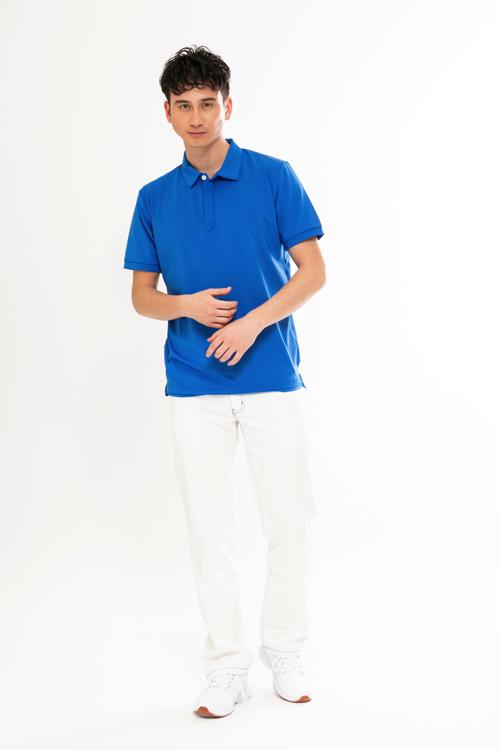 Back BIG ロゴポロシャツ(MEN)