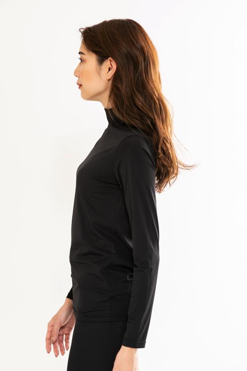 Backロゴ機能性ハイネックインナー(WOMEN)