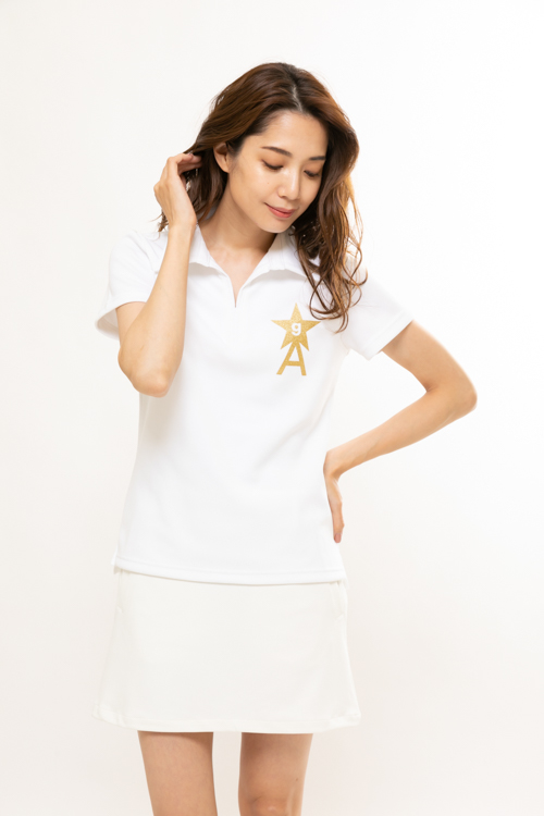 NEW333スキッパーポロシャツ